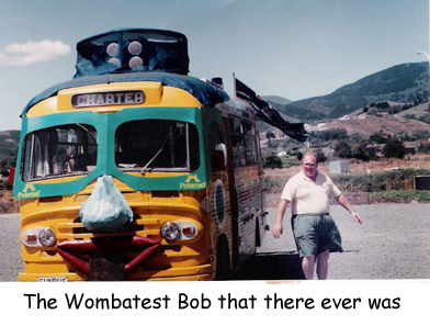The Wombatest Bob that there ever was