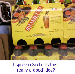 Brasilena - Espresso Soda. Is this a good idea?